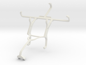 Controller mount for Xbox 360 & verykool s4007 Leo in White Natural Versatile Plastic