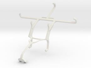 Controller mount for Xbox 360 & verykool s5020 Gia in White Natural Versatile Plastic