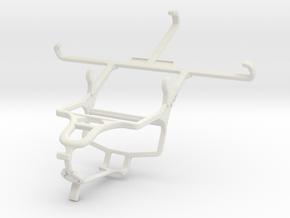 Controller mount for PS4 & ZTE Blade L5 Plus in White Natural Versatile Plastic