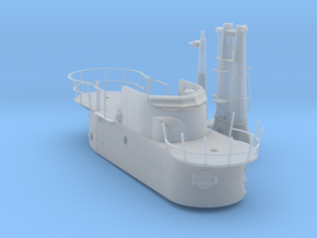 1/72 USS Balao SS-285 Fairwater (1945) in Smooth Fine Detail Plastic