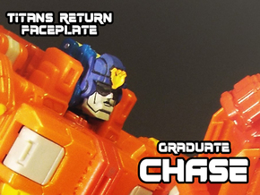 Graduate Chase Faceplate (Titans Return) in Smooth Fine Detail Plastic