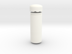 Rey's Shoulder Canister in White Processed Versatile Plastic