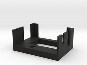 Preston Single Channel Cradle in Black Natural Versatile Plastic