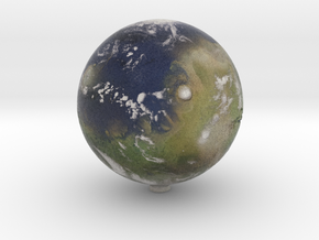 Terraformed Mars in Full Color Sandstone