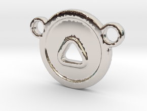 CT-CH in Rhodium Plated Brass