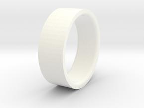 Beadlock ring 52 mm D90 D110 1:10 3/3 in White Processed Versatile Plastic