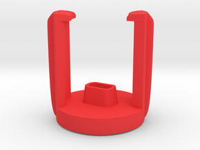 DJI INSPIRE holder for 2 RED Propellers in Red Processed Versatile Plastic