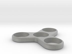 Triple Spinner - Hand/EDC/Fidget Spinner in Metallic Plastic