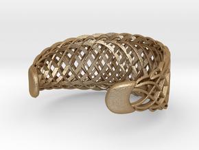 Echo.C Bracelet in Matte Gold Steel