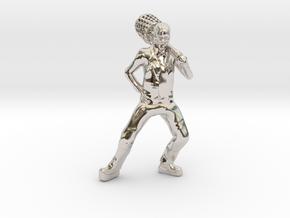 The Mask custom Heroclix in Platinum