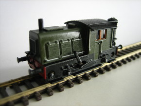 N SIK NS 200-300 locomotor met houtgasgenerator in Smoothest Fine Detail Plastic