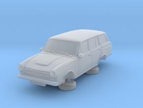 1-87 Ford Cortina Mk1 4 Estate in Smooth Fine Detail Plastic