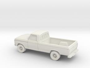 1/72 1979 Ford F Series Reg Cab in White Natural Versatile Plastic