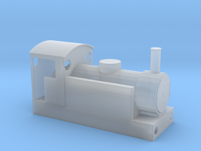 009 Narrow Gauge Locomotive Bodyshell in Smooth Fine Detail Plastic