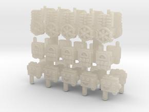 15mm Arc Generator Packs (30pcs) in White Acrylic