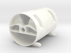 Matilda - Part 1: Capsule #SAR3DP in White Processed Versatile Plastic