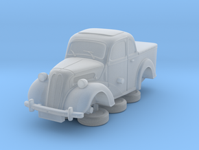 1-76 Ford Anglia E494a Pickup in Smooth Fine Detail Plastic