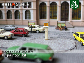 Taxirufsäule (N 1:160) in Smooth Fine Detail Plastic