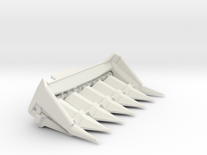 L and M Series 1 6 row in White Natural Versatile Plastic