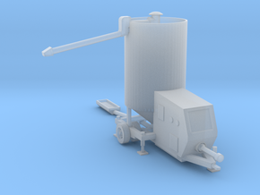 N-scale Portable Grain Dryer - Working in Smooth Fine Detail Plastic