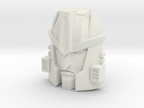Beast Wars Dinobot, Prequel Face (Titans Return) in White Natural Versatile Plastic
