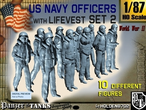 1-87 USN Officers KAPOK Set2 in Frosted Ultra Detail