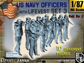 1-87 USN Officers KAPOK Set3 in Frosted Ultra Detail