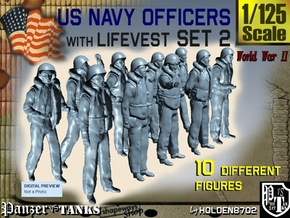 1-125 USN Officers KAPOK Set2 in Frosted Ultra Detail