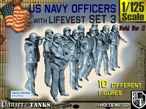 1-125 USN Officers KAPOK Set3 in Frosted Ultra Detail
