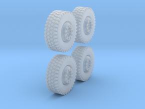 1Satz Reifen Einteilig 12,7mm in Smooth Fine Detail Plastic