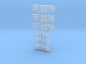 3x Astabweiser LF 16KatS 2014 in Smooth Fine Detail Plastic