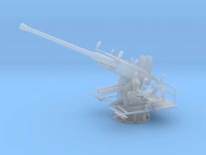 1/72 USN Single 40mm Bofors [Elevated] in Smooth Fine Detail Plastic