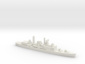 Type 42 DDG (Post-Falklands War), 1/2400 in White Natural Versatile Plastic