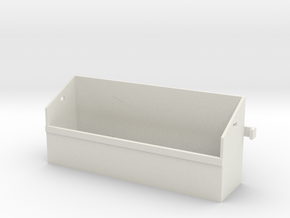 1/16 Pz IV Spare Wheel Box in White Natural Versatile Plastic