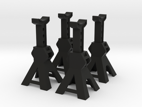 1/10 Sclae Jacks Stand in Black Natural Versatile Plastic