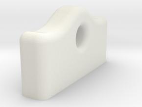 Flight Controller Vibration Damper Jig 2mm in White Natural Versatile Plastic