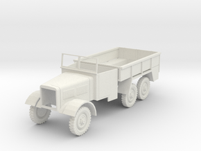 Einheitsdiesel WWII German truck 1:48 in White Strong & Flexible