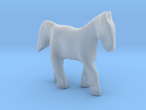 Horse in Smooth Fine Detail Plastic
