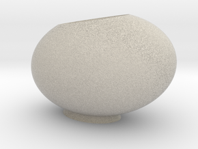 The Tilted Egg in Natural Sandstone