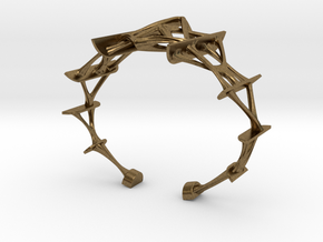 Synapse Bracelet in Natural Bronze: Small