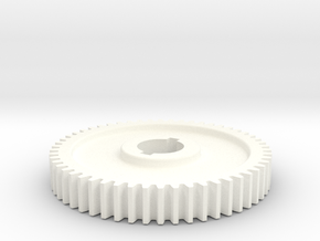 54T Atlas 618/Craftsman 101 Change Gear in White Processed Versatile Plastic