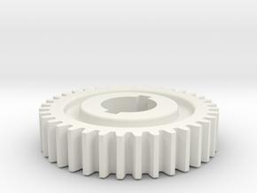 36T Atlas 618/Craftsman 101 Change Gear in White Natural Versatile Plastic