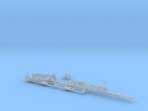 HO Saw Mill Complete in Smooth Fine Detail Plastic