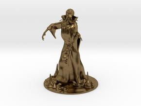 Mind Flayer Miniature in Natural Bronze: 1:60.96
