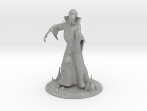 Mind Flayer Miniature in Aluminum: 1:60.96
