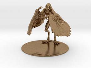 Aarakocra Miniature in Natural Brass: 1:60.96