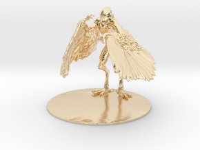 Aarakocra Miniature in 14k Gold Plated: 1:60.96