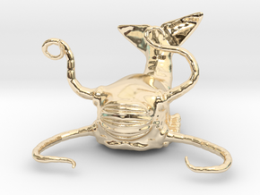 Aboleth Miniature in 14k Gold Plated: 1:60.96