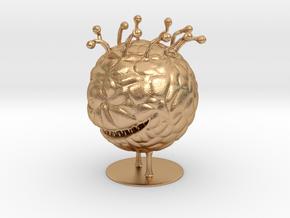 Beholder Miniature in Natural Bronze: 1:60.96