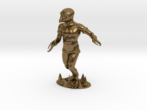 Crabman Miniature in Natural Bronze: 1:60.96